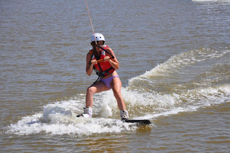 Book a Wakeboarding package at Ocean Villas and we will have you smiling